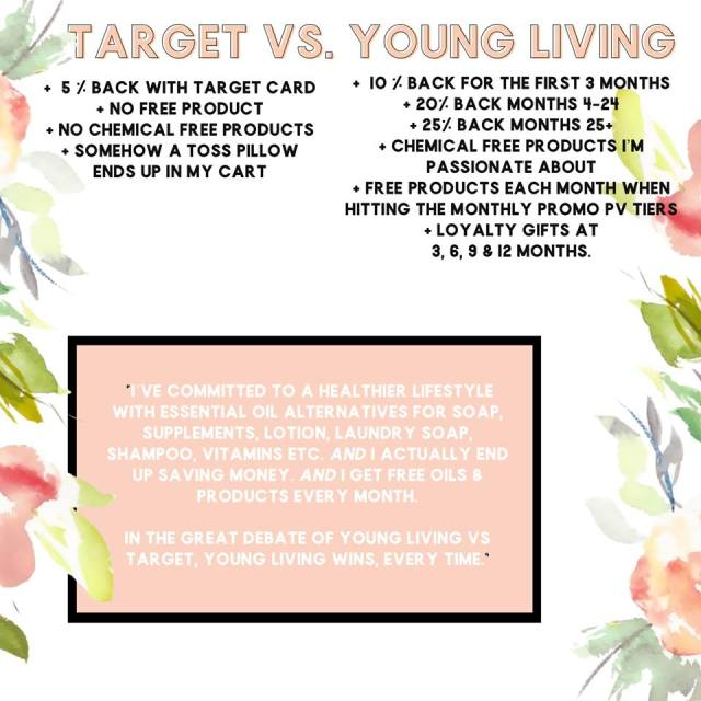 Target vs Young Living